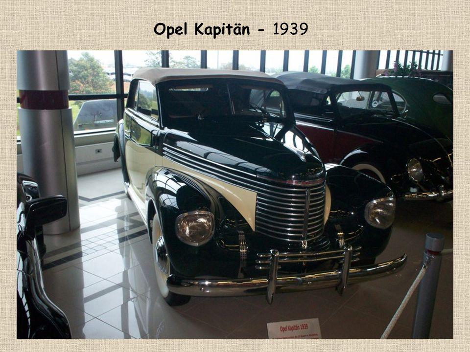 Opel Kapitän - 1939