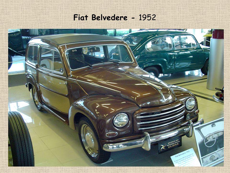 Fiat Belvedere - 1952
