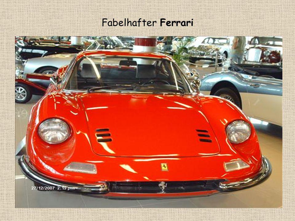 Fabelhafter Ferrari