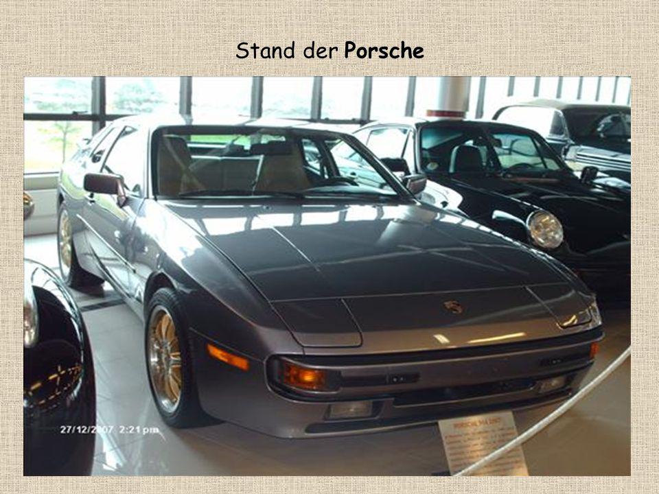 Stand der Porsche