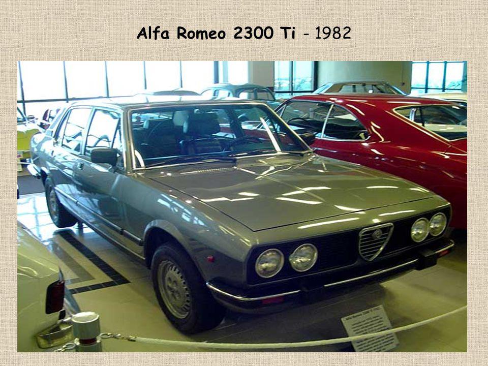 Alfa Romeo 2300 Ti - 1982
