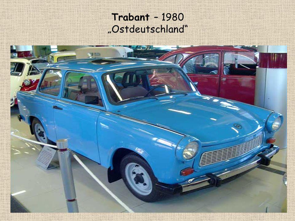 """Trabant – 1980 """"Ostdeutschland"""