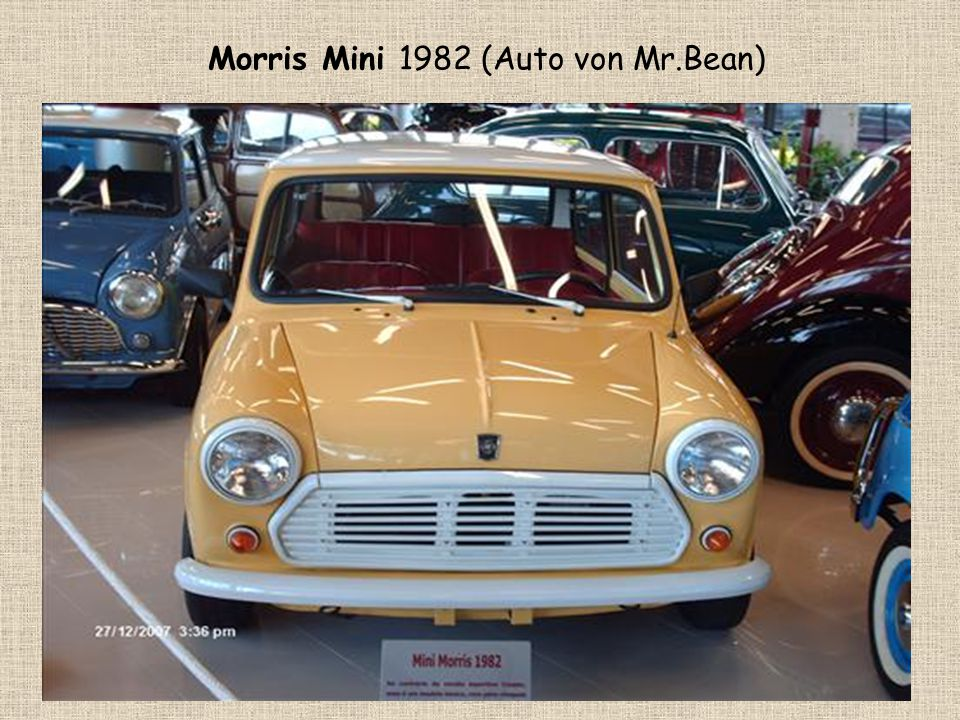 Morris Mini 1982 (Auto von Mr.Bean)