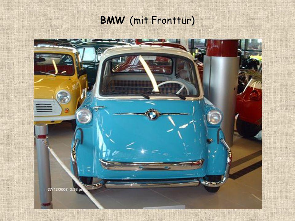 BMW (mit Fronttür)