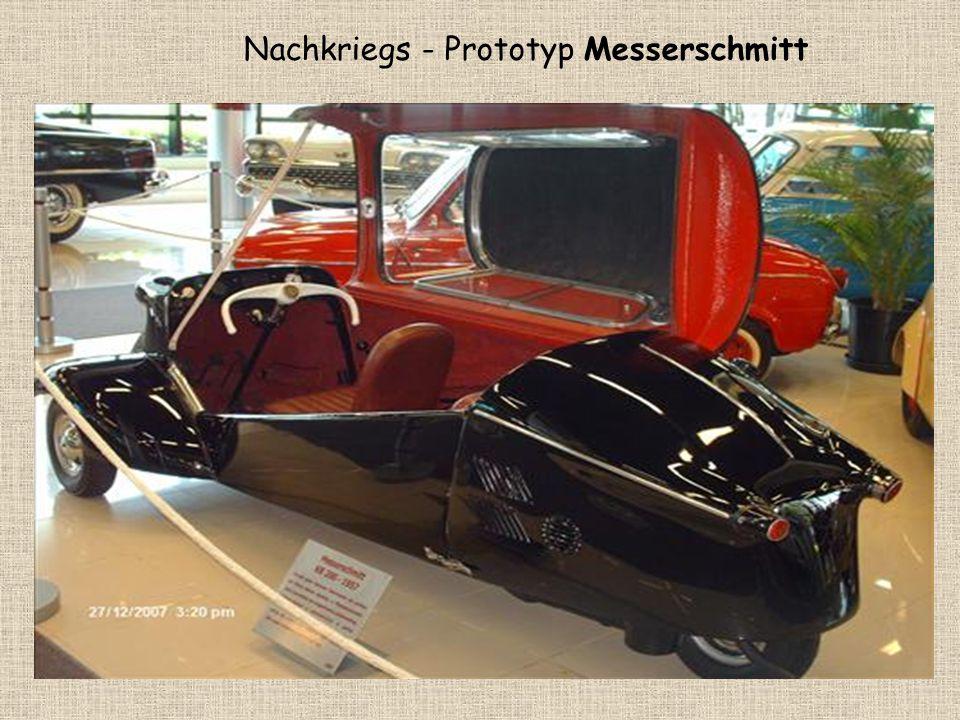 Nachkriegs - Prototyp Messerschmitt