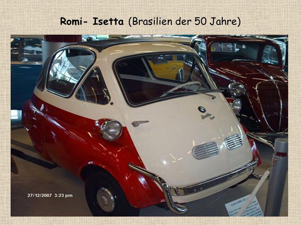 Romi- Isetta (Brasilien der 50 Jahre)