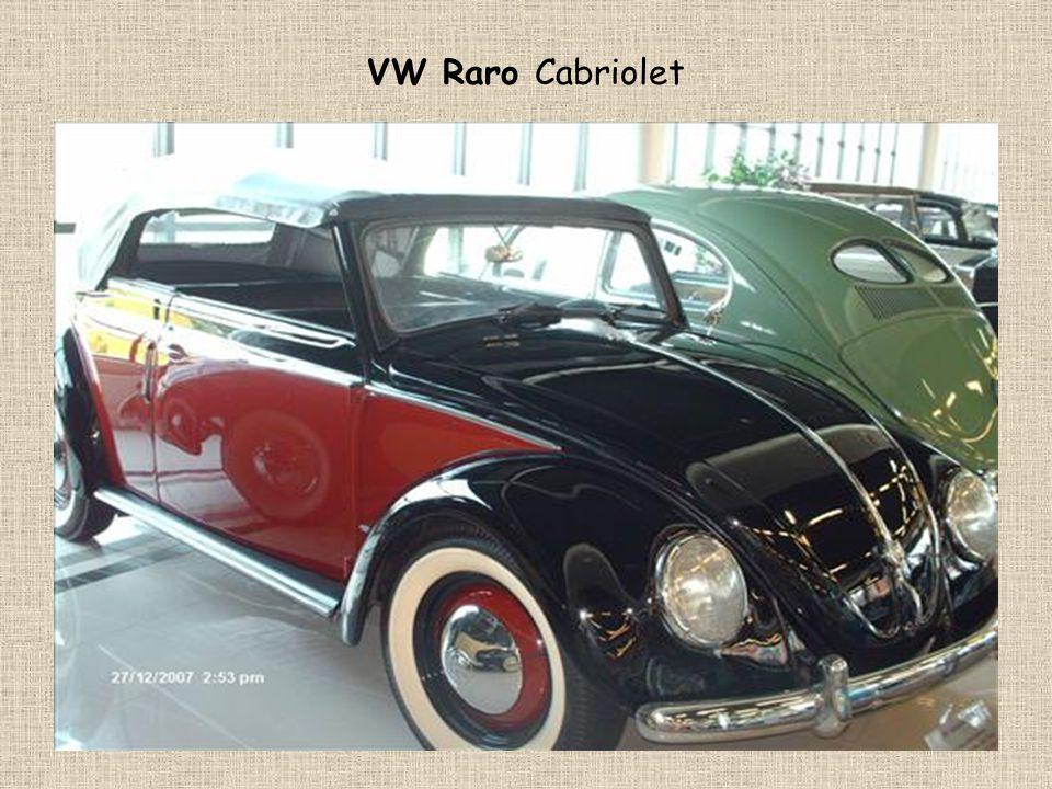 VW Raro Cabriolet