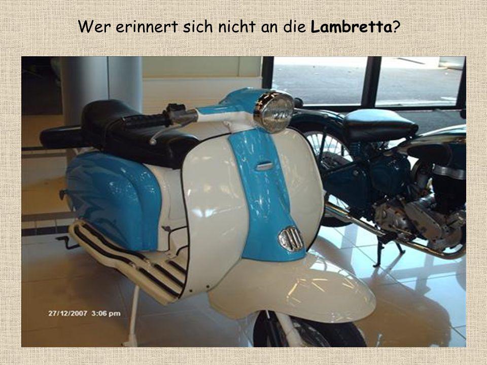 Wer erinnert sich nicht an die Lambretta
