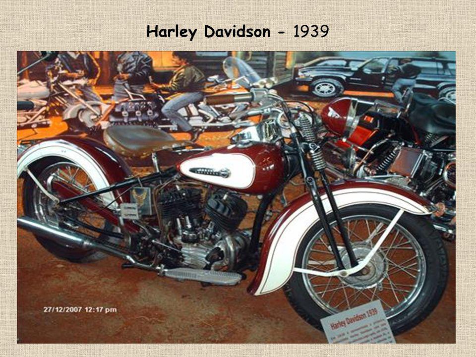 Harley Davidson - 1939