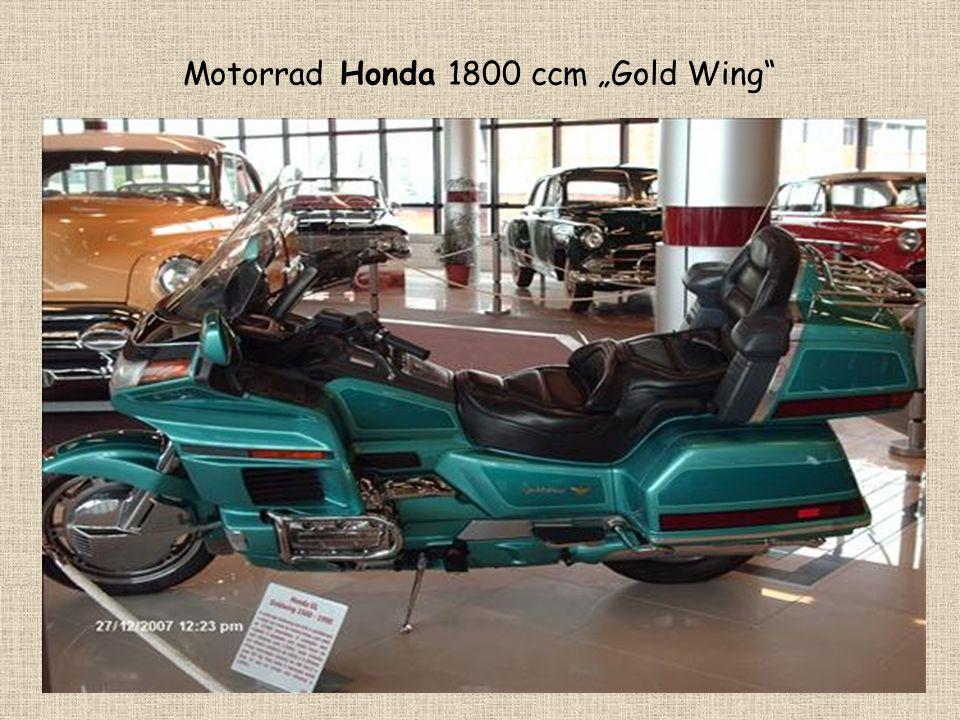 """Motorrad Honda 1800 ccm """"Gold Wing"""