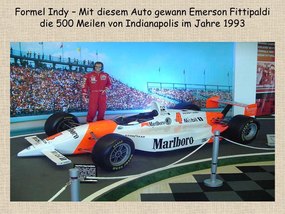 Formel Indy – Mit diesem Auto gewann Emerson Fittipaldi