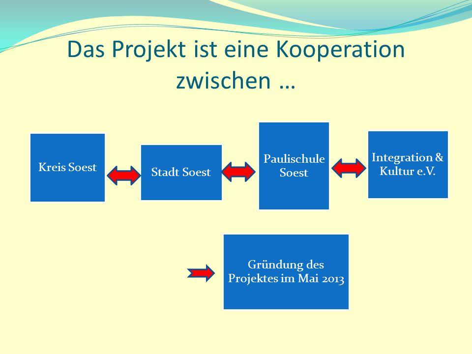 Das Projekt ist eine Kooperation zwischen …