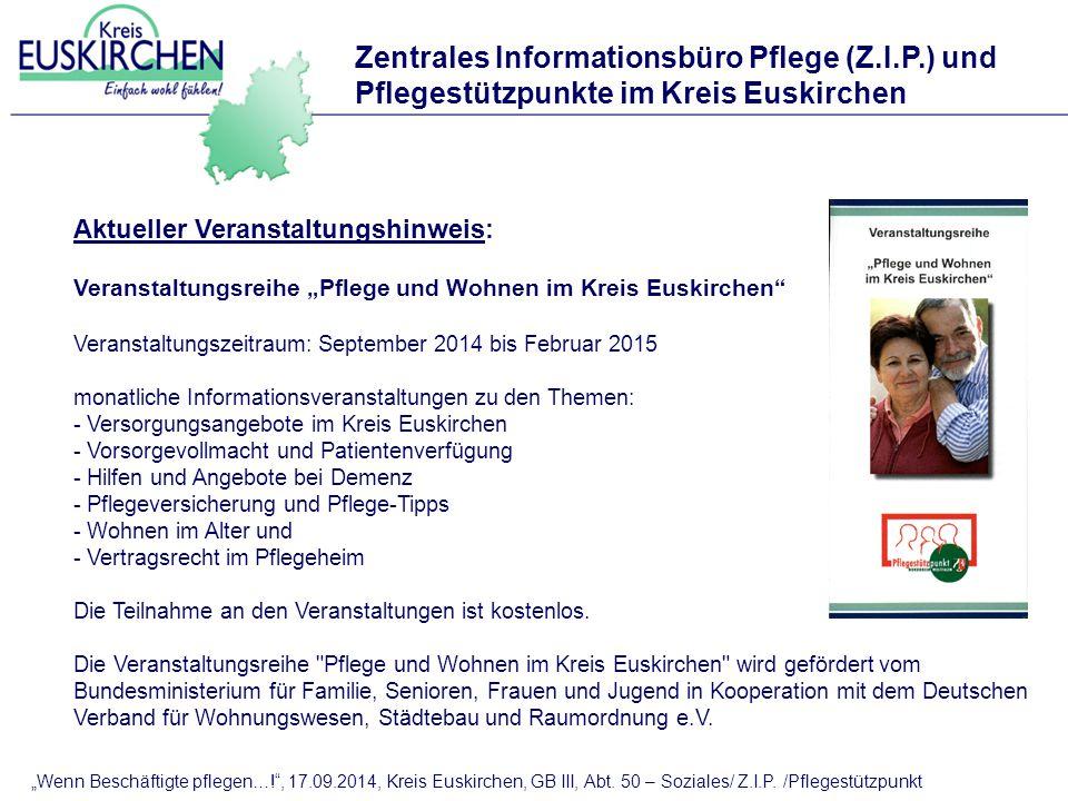 Zentrales Informationsbüro Pflege (Z.I.P.) und