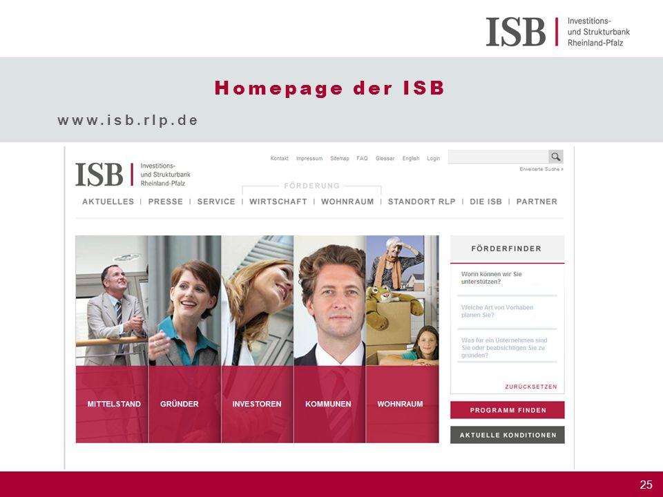 Homepage der ISB www.isb.rlp.de