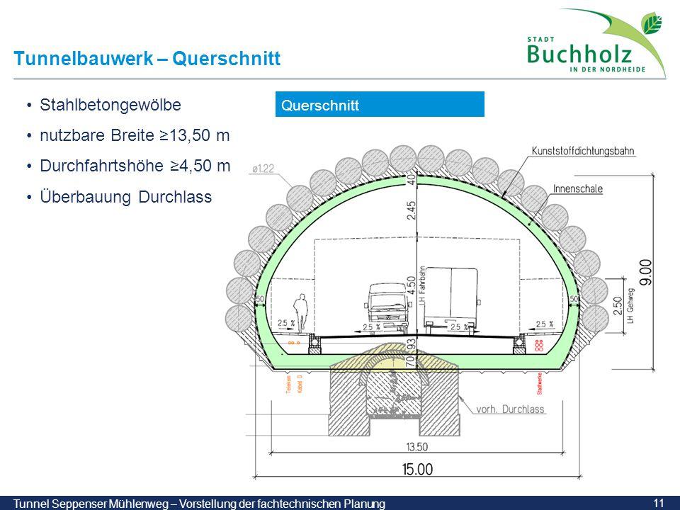 Tunnelbauwerk – Querschnitt