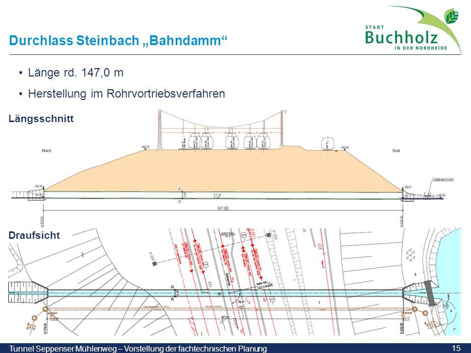 """Durchlass Steinbach """"Bahndamm"""