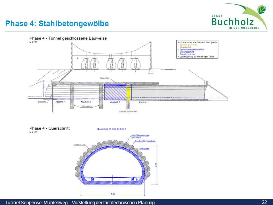 Phase 4: Stahlbetongewölbe