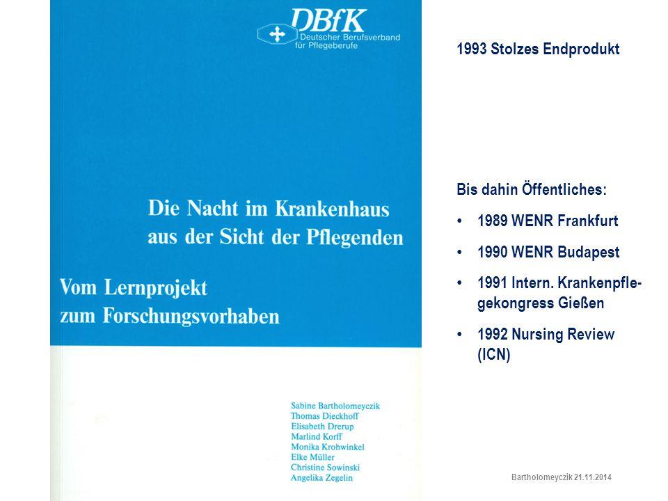 Lehr- und Lernp 1993 Stolzes Endprodukt Bis dahin Öffentliches: