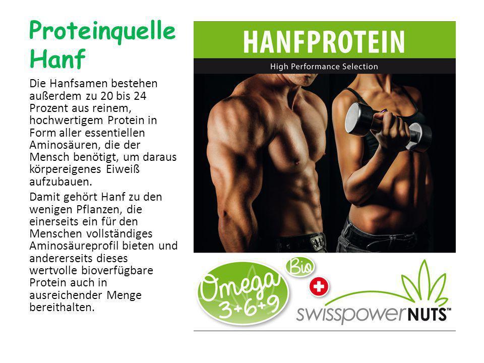 Proteinquelle Hanf