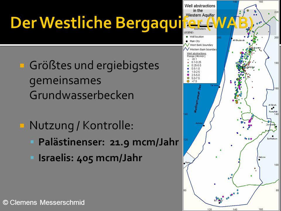 Der Westliche Bergaquifer (WAB)