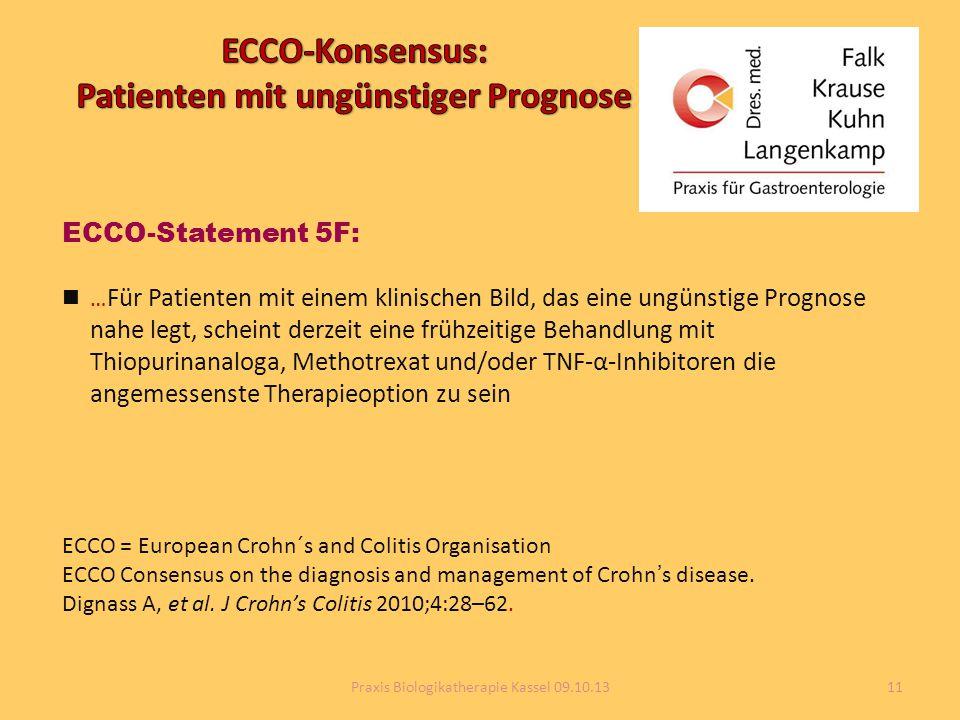 ECCO-Konsensus: Patienten mit ungünstiger Prognose