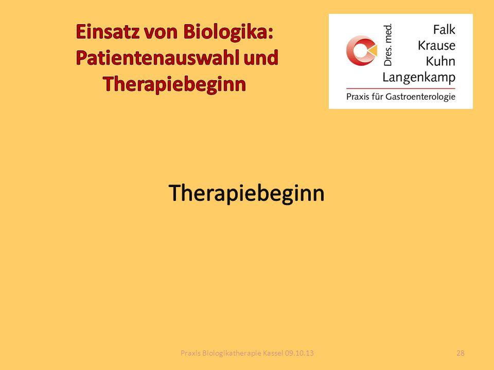 Einsatz von Biologika: Patientenauswahl und Therapiebeginn