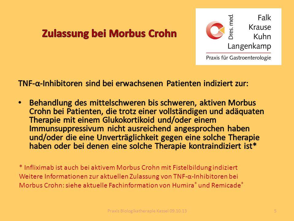 Zulassung bei Morbus Crohn