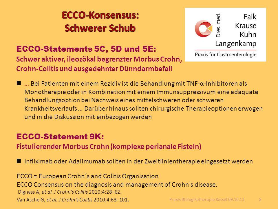 ECCO-Konsensus: Schwerer Schub