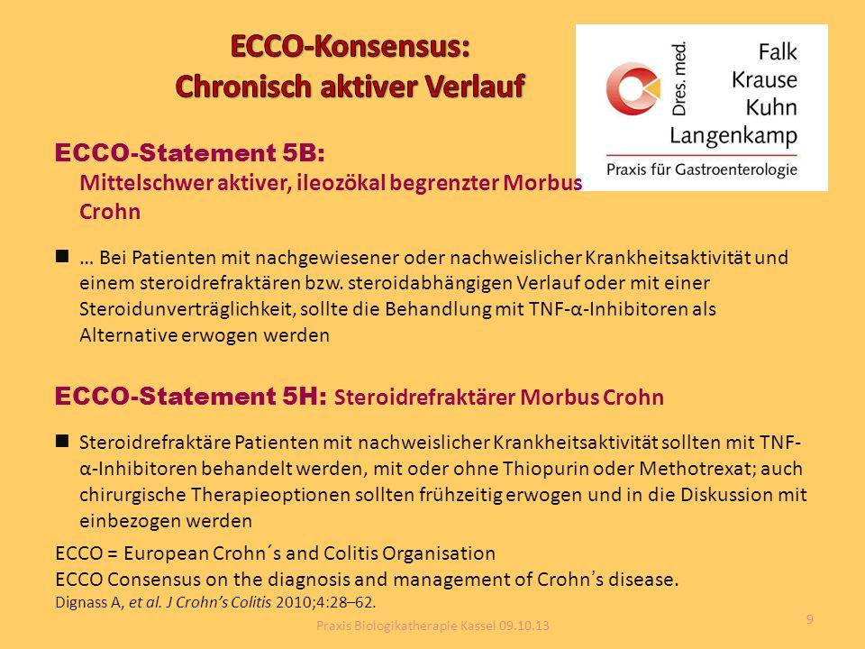 ECCO-Konsensus: Chronisch aktiver Verlauf