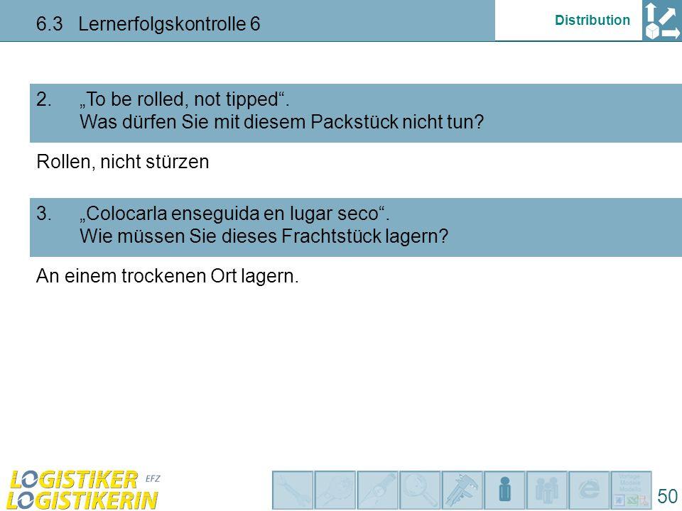 6.3 Lernerfolgskontrolle 6
