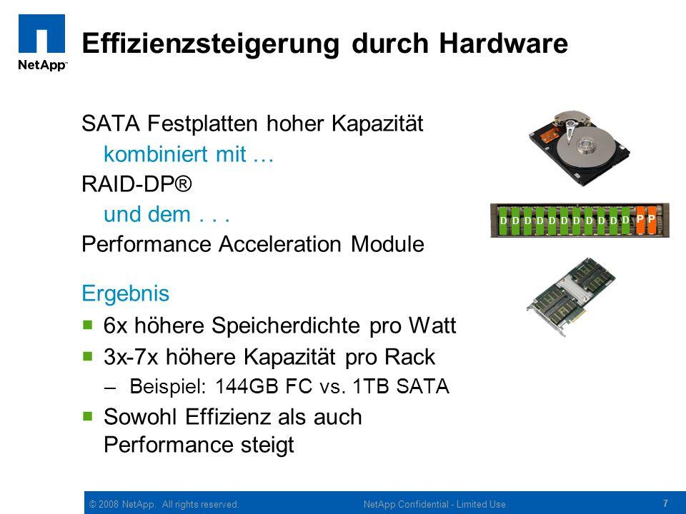Effizienzsteigerung durch Hardware