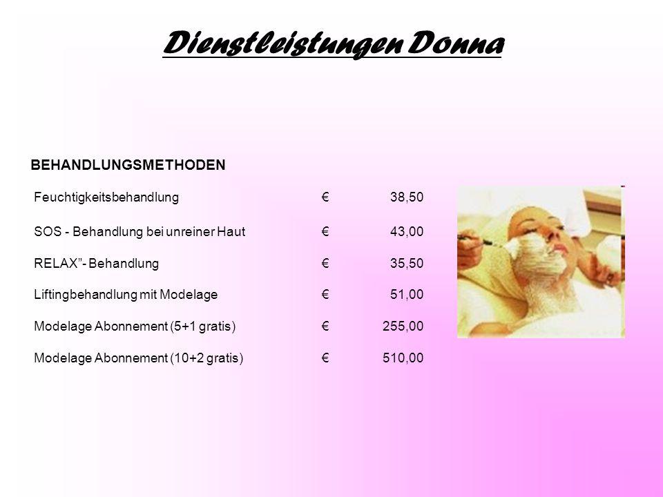 Dienstleistungen Donna