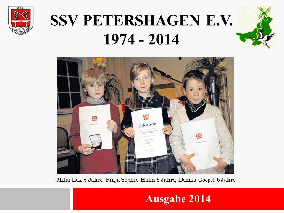 Mika Lux 8 Jahre, Finja Sophie Hahn 6 Jahre, Dennis Goepel 6 Jahre