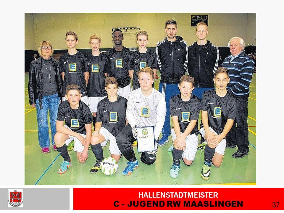 Hallenstadtmeister C - Jugend RW Maaslingen
