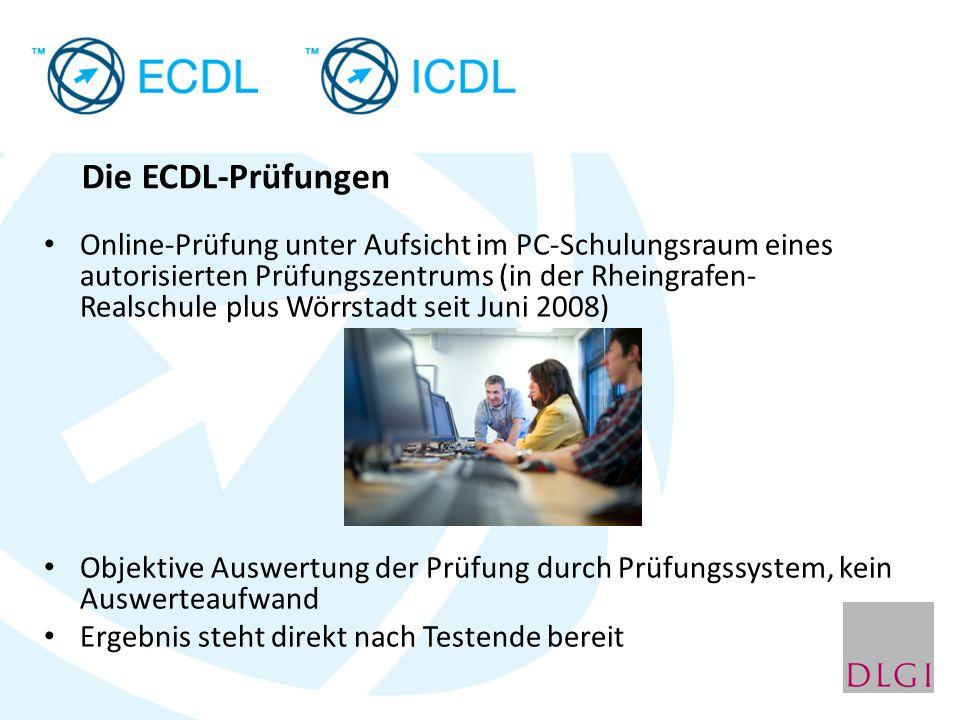 Die ECDL-Prüfungen