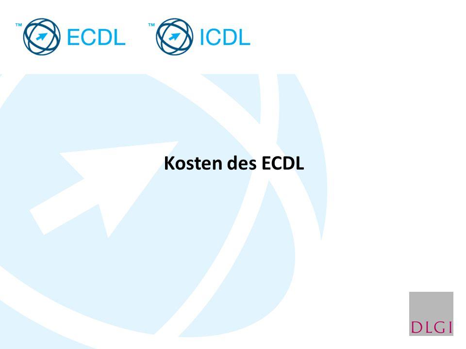 Kosten des ECDL