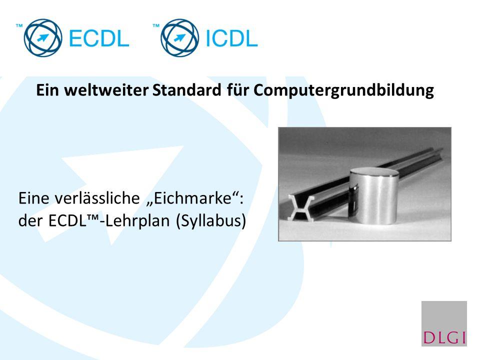 Ein weltweiter Standard für Computergrundbildung