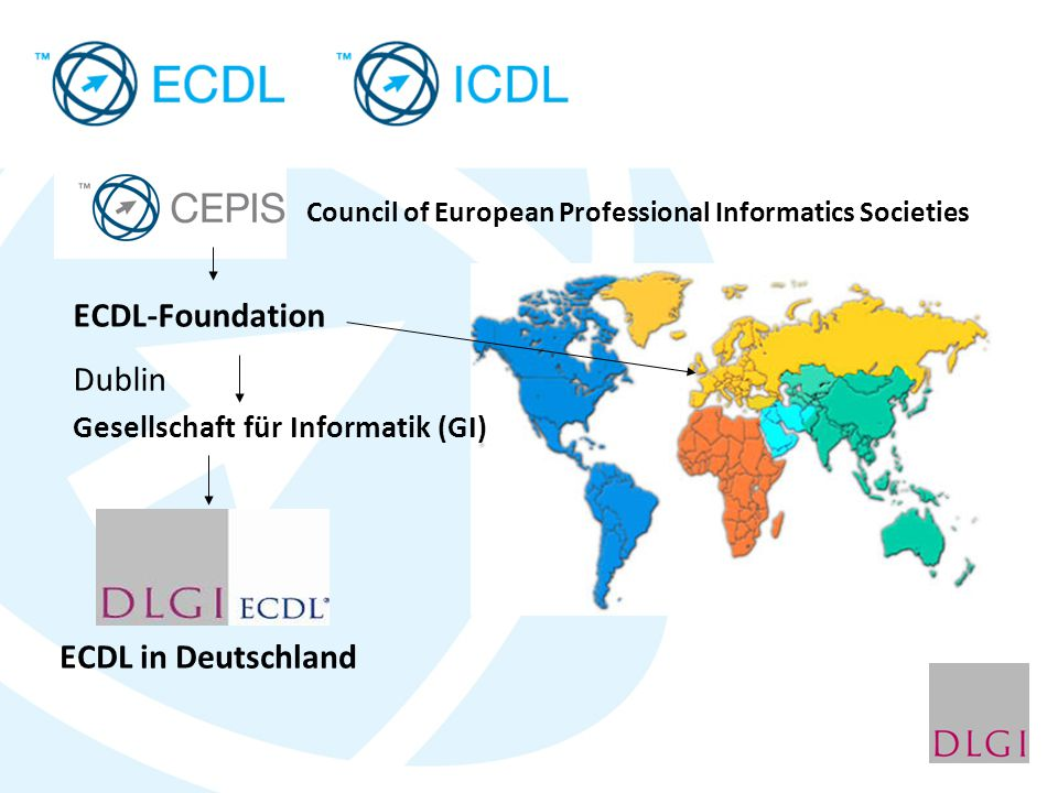 ECDL-Foundation Dublin ECDL in Deutschland