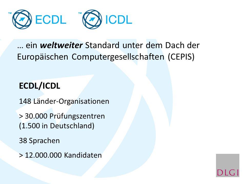 … ein weltweiter Standard unter dem Dach der Europäischen Computergesellschaften (CEPIS)