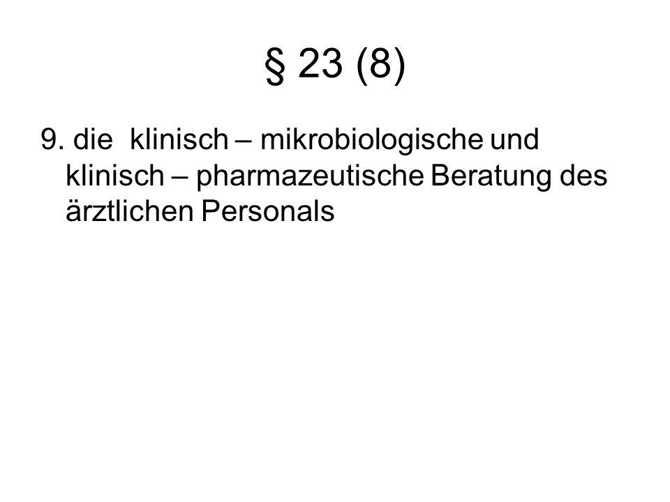 § 23 (8) 9.