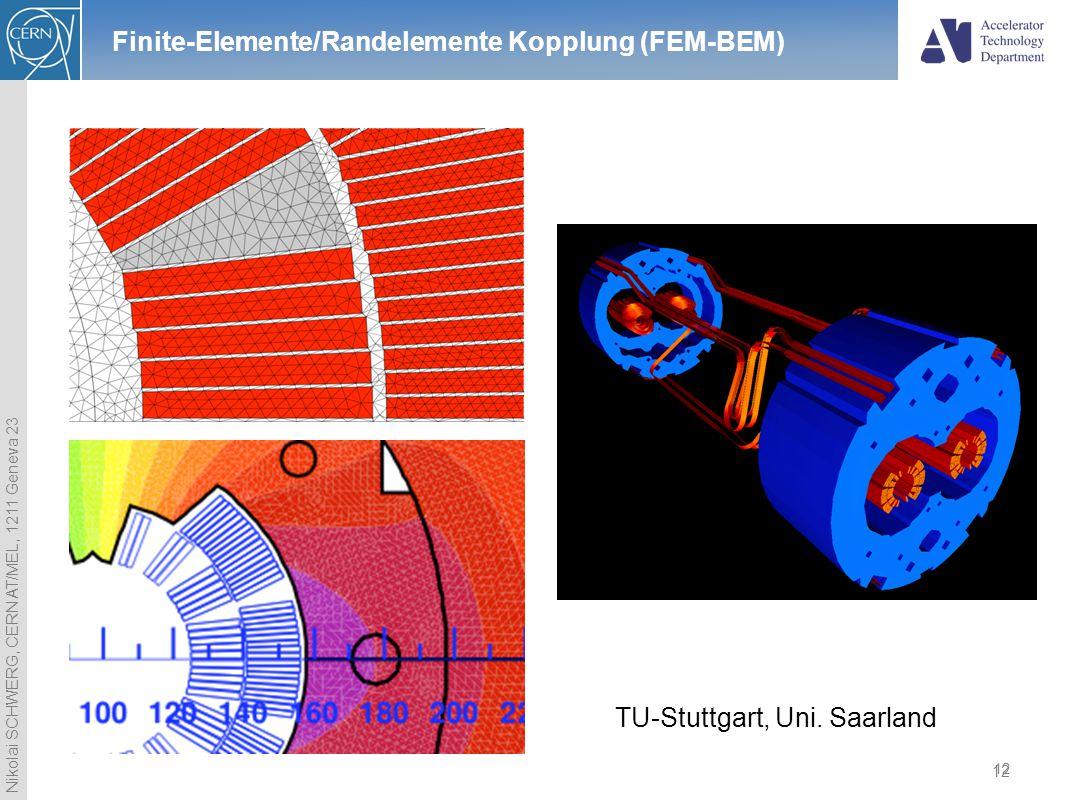 Finite-Elemente/Randelemente Kopplung (FEM-BEM)