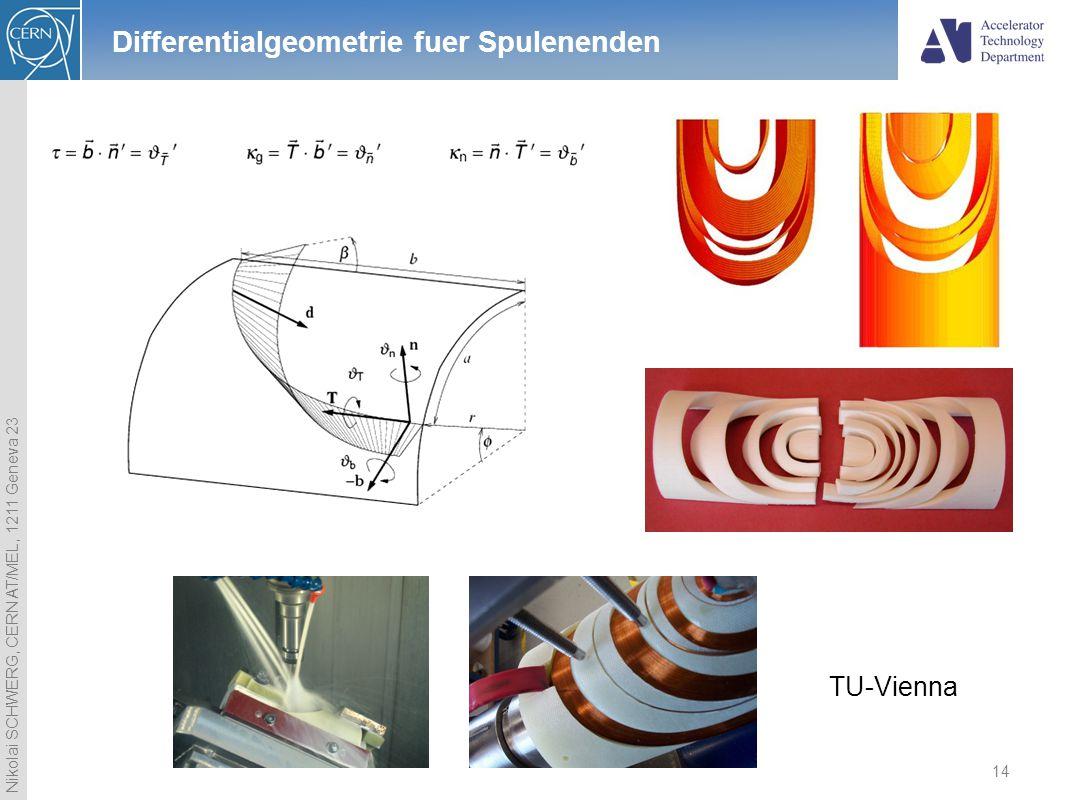 Differentialgeometrie fuer Spulenenden