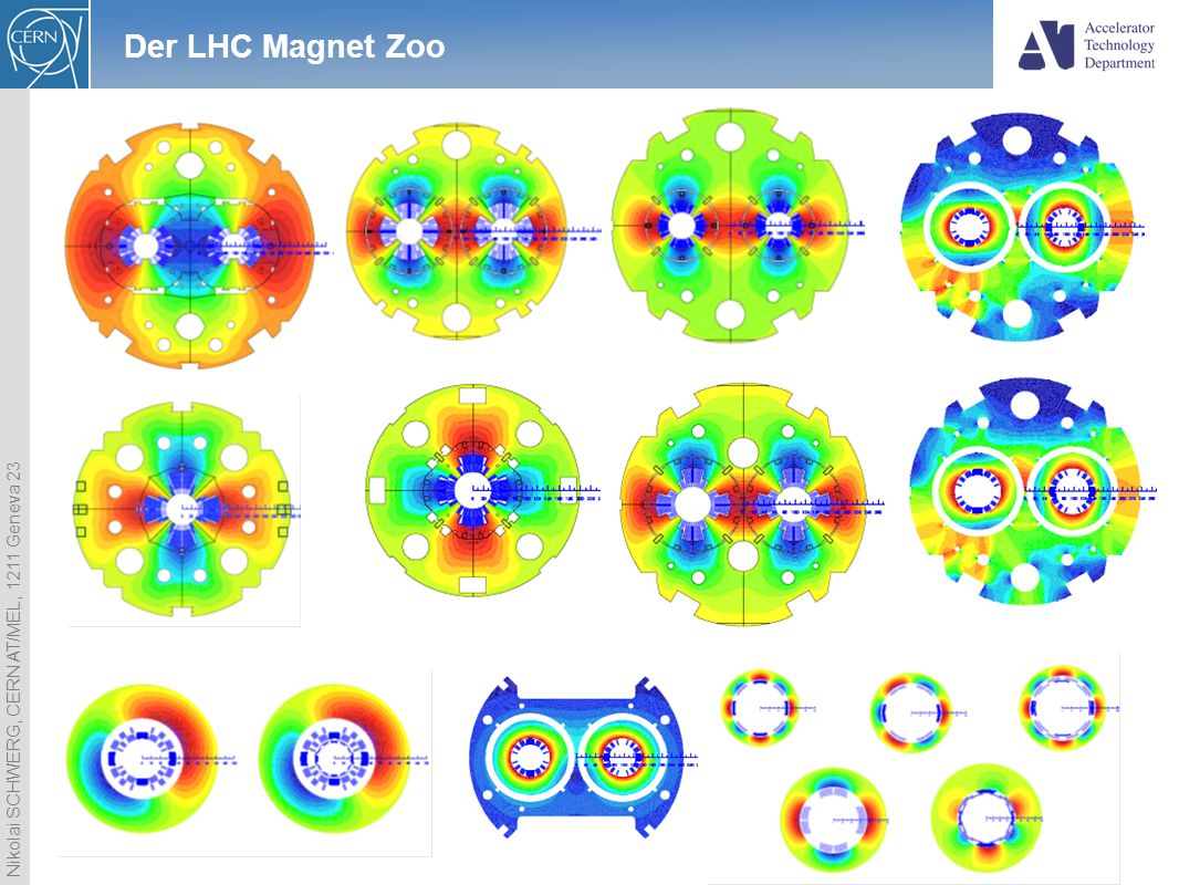 Der LHC Magnet Zoo