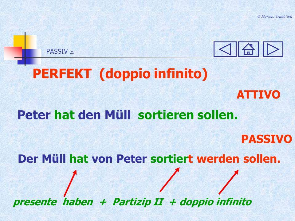 PERFEKT (doppio infinito)