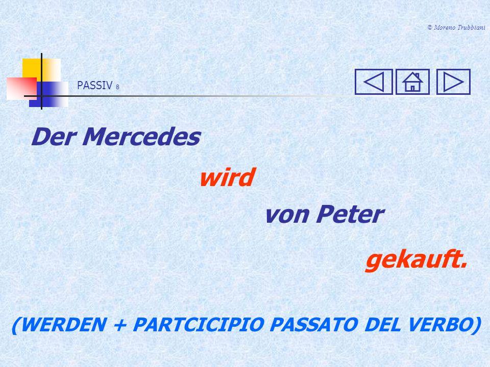 (WERDEN + PARTCICIPIO PASSATO DEL VERBO)