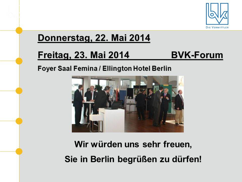 Wir würden uns sehr freuen, Sie in Berlin begrüßen zu dürfen!