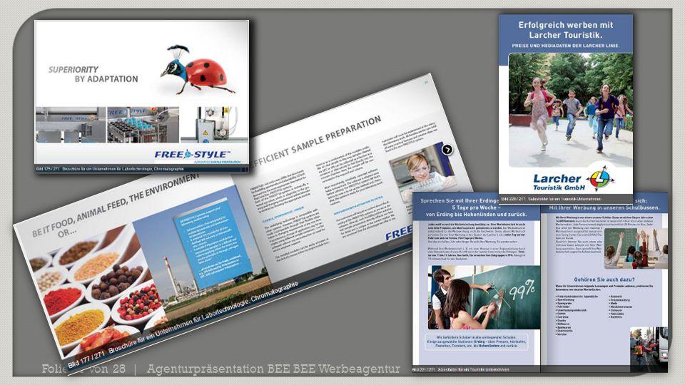 Agenturpräsentation BEE BEE Werbeagentur