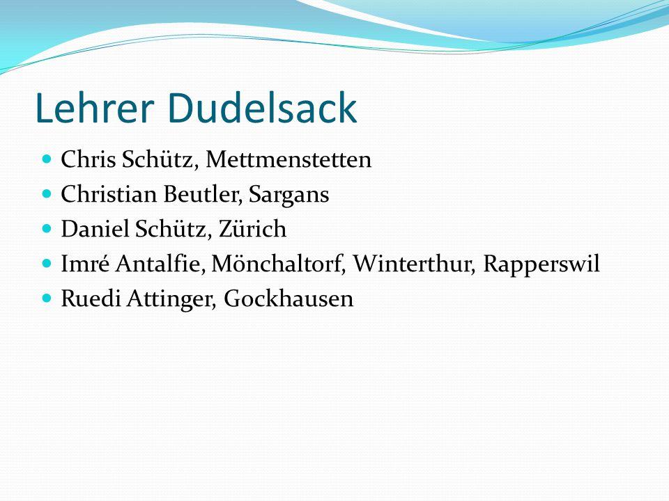 Lehrer Dudelsack Chris Schütz, Mettmenstetten