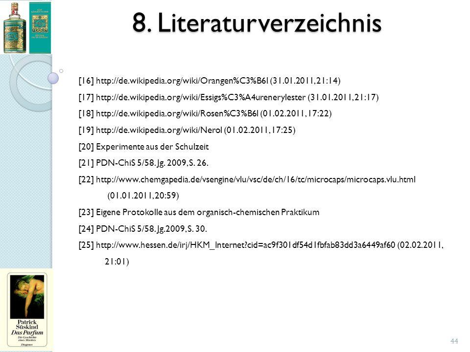 8. Literaturverzeichnis