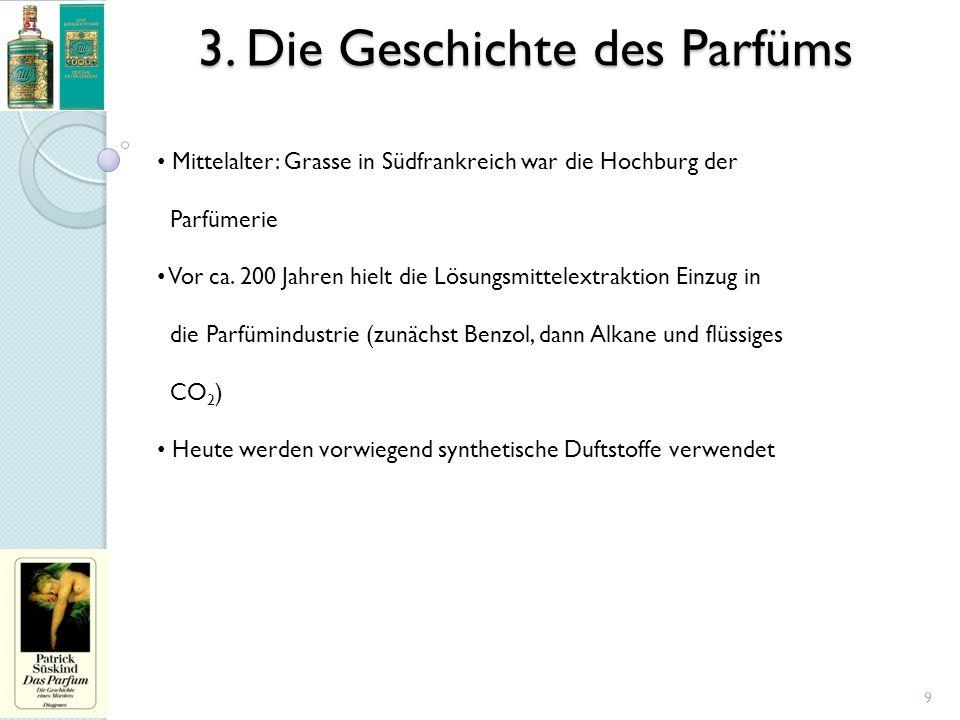 3. Die Geschichte des Parfüms